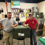Congratulations to Tanner Wiley on winning the K2 50 Quart Cooler at our Sportsmen's Day Event