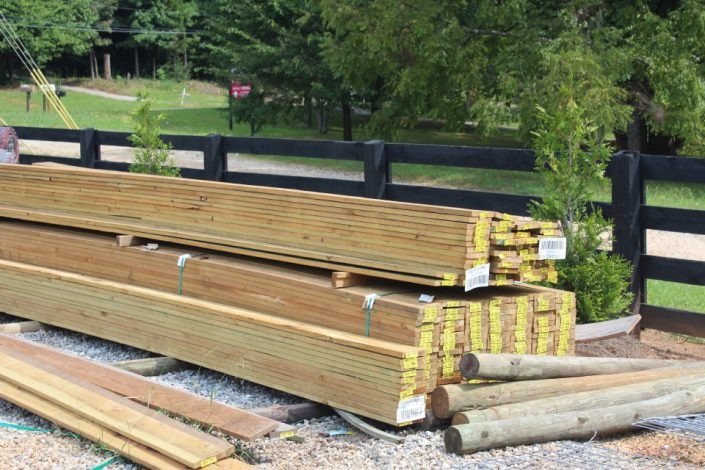 Cherokee Feed Seed has gates, fencing, posts, boards and wire