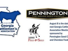 Georgia Cattlemen's Association Meeting - Cherokee Feed & Seed - Pennington Seed