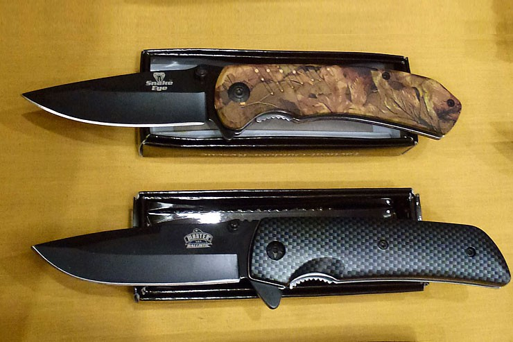 Cherokee Feed & Seed carries a wide variety of hunting knives