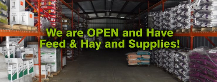 Cherokee Feed & Seed is open