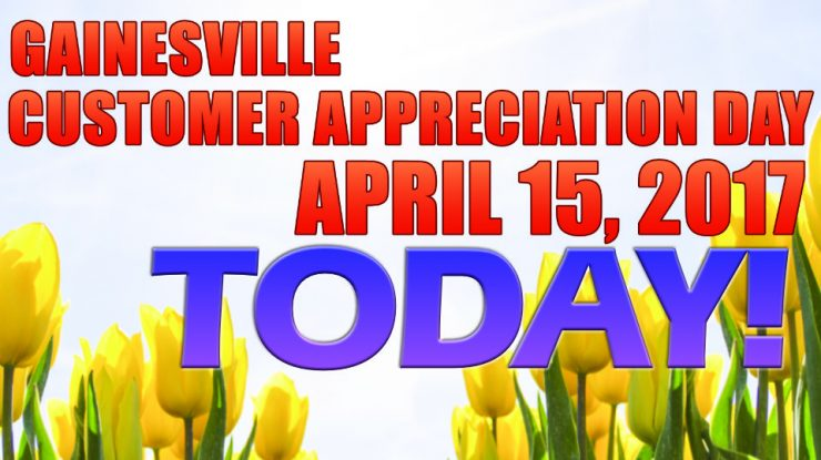 Cherokee Feed & Seed Customer Appreciation Day is TODAY!