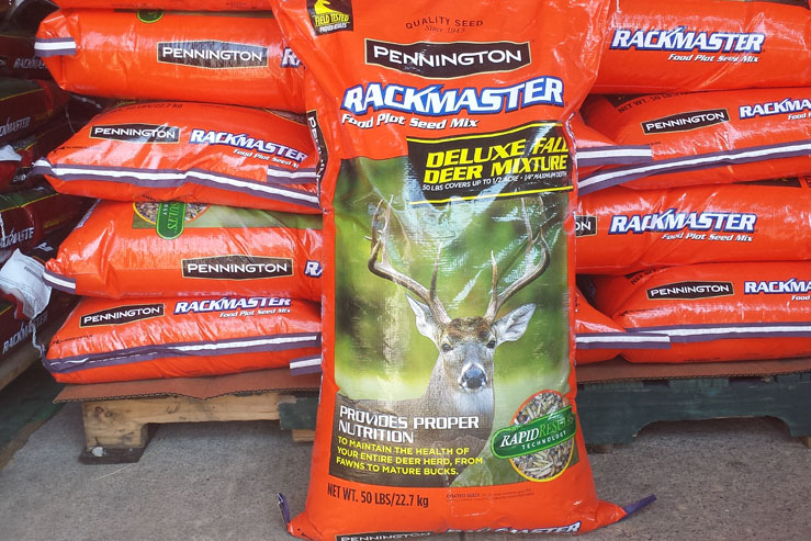 Rackmaster Deer Food Plot Seed Mix