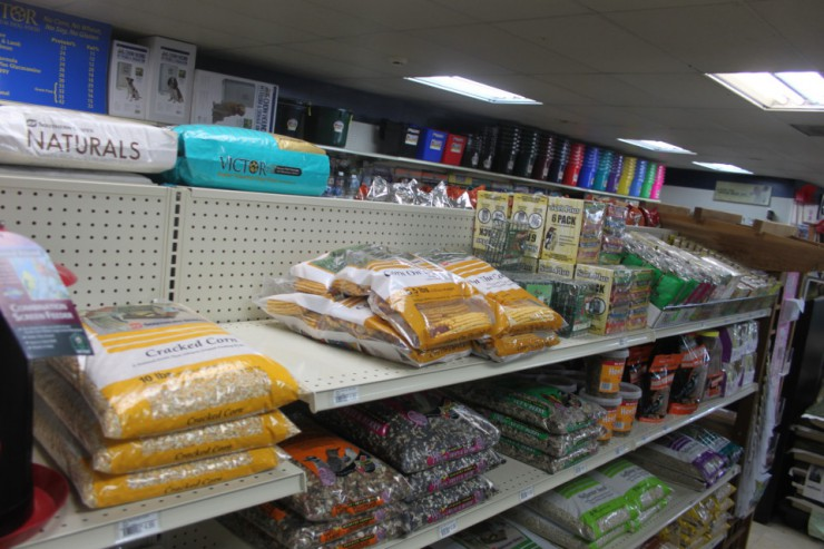 Cherokee Feed & Seed carries bird feed and feeders as well as seeds and plants.