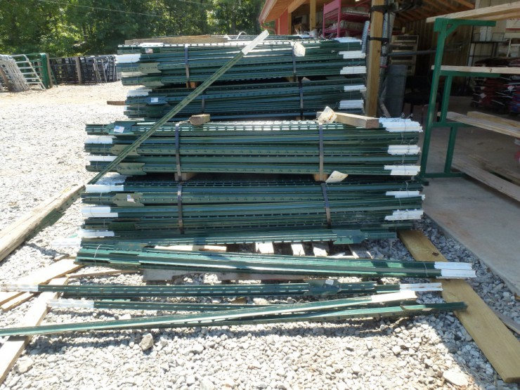Metal T-Post Fencing at Cherokee Feed & Seed