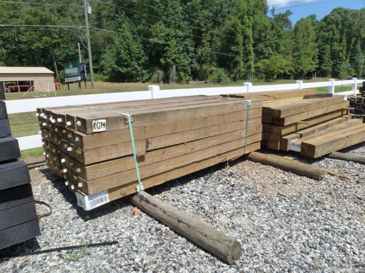 Pressure Treated Wood Fence Posts at Cherokee Feed & Seed