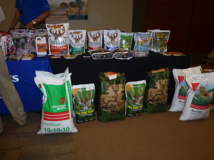 Southern States products including fertilizer, deer plot food and deer supplements are at Cherokee Feed & Seed stores.