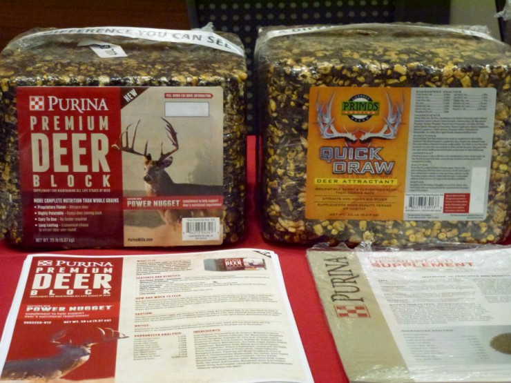 Find Purina Wildlife Management products at Cherokee Feed & Seed stores.