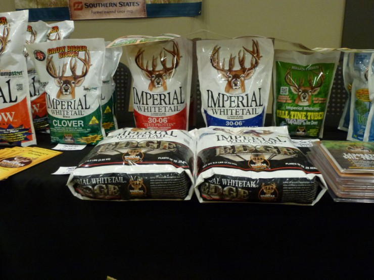 Deer plot food at Cherokee Feed & Seed stores.