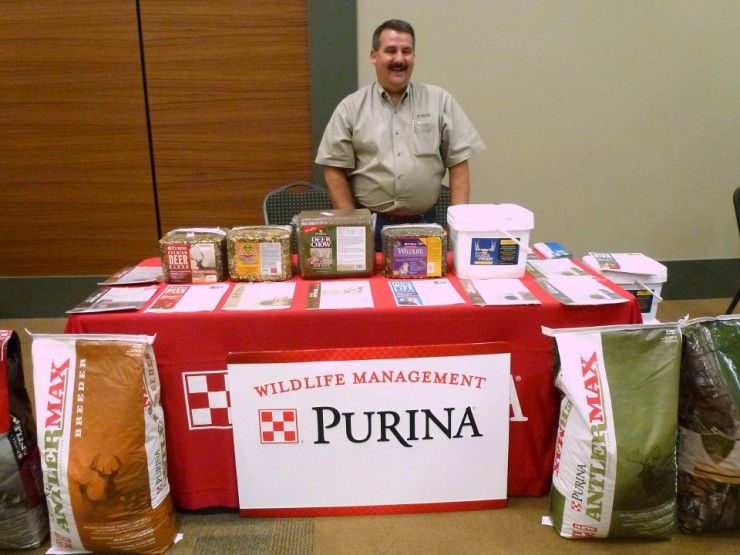 Purina Wildlife Management products including AntlerMax and Deer blocks are at Cherokee Feed & Seed stores