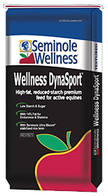 Seminole Wellness DynaSport - Low starch, high fat, calorie-rich horse feed