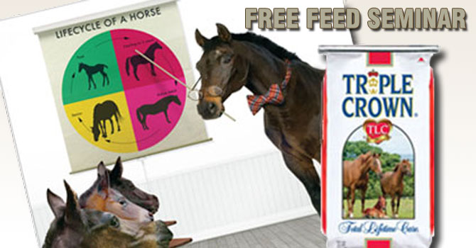 Free Horse Feed Seminar - Cherokee Feed & Seed - Ball Ground, GA