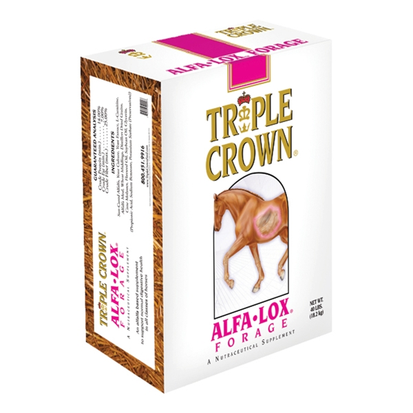 Triple Crown Alfa-Lox Nutraceutical Forage Supplement 40 lb