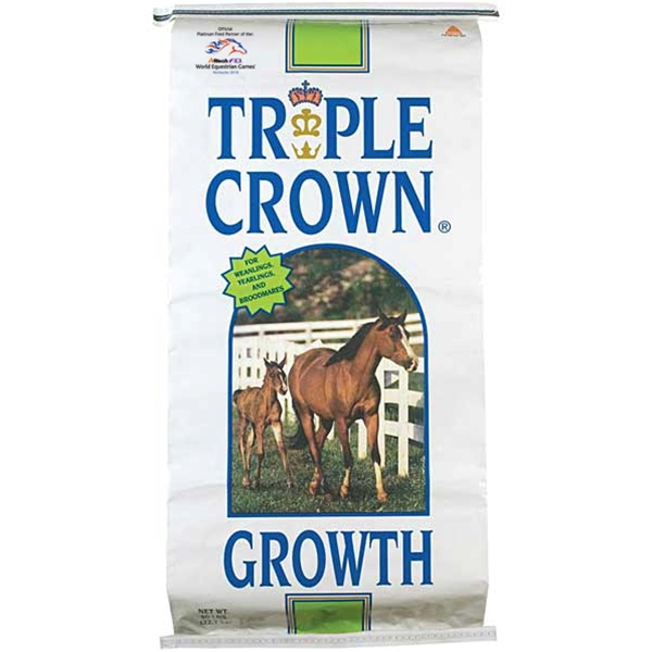 Triple Crown Growth Textured Horse Feed 50 lb