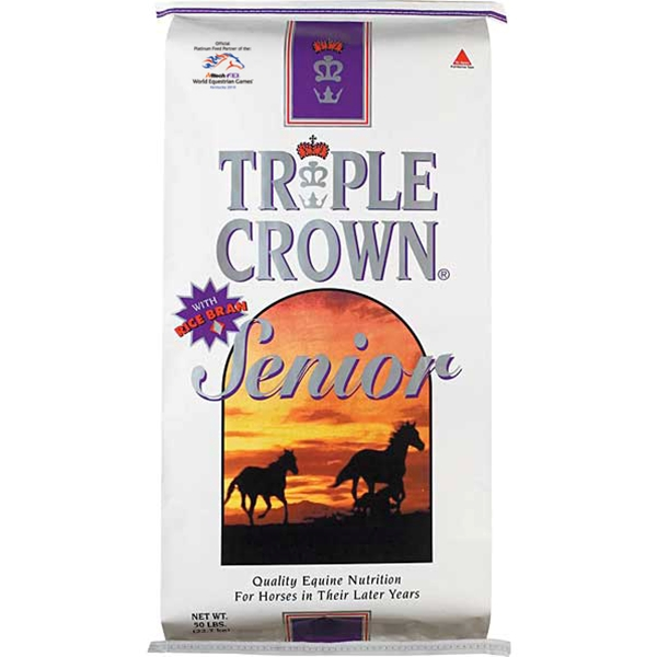 Triple Crown Senior Formula Textured Horse Feed 50 lb
