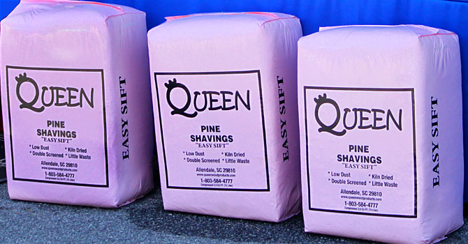 Queen Easy Sift™ Pine Shavings for Horse & Poultry Bedding