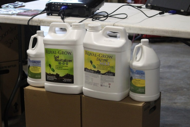 Royal-Grow herbicides and fertlizers are available at Cherokee Feed & Seed