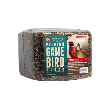 Purina Premium Game Bird Block