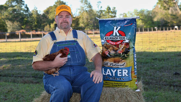 """The Chicken Whisperer"" Andy Schneider will be at Cherokee Feed & Seed August 11, 2016"