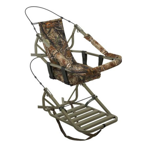Summit 81052 Viper Classic Steel Self-Climbing Tree Stand with Camouflage Finish