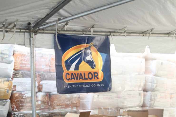 Cavalor Horse Feed at Cherokee Feed & Seed Customer Appreciation Day 2016 Ball Ground, GA