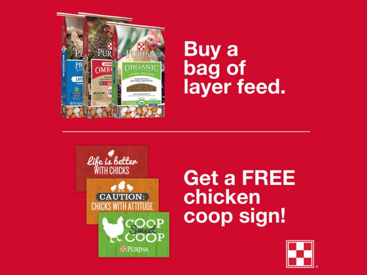 Purina FLOCK-TOBER Event at Cherokee Feed & Seed stores in GA