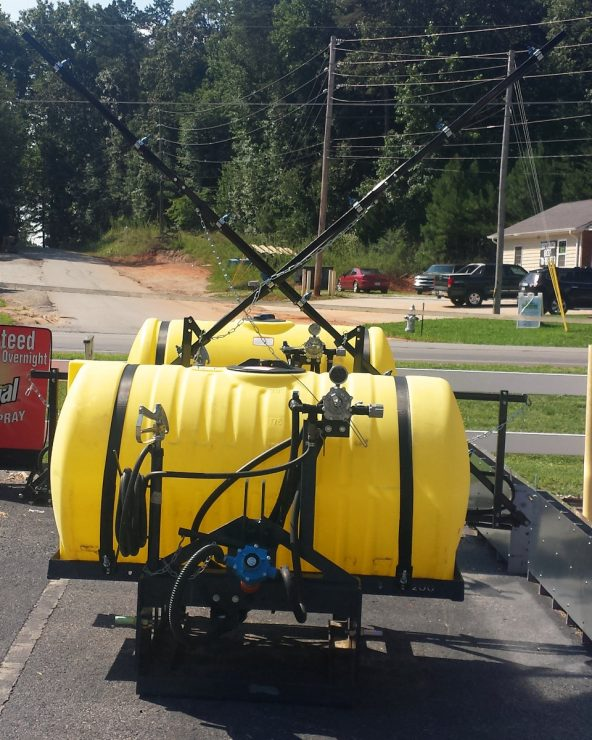 Boom and bloomless 3-point hitch sprayers from Ag Spray Equipment company