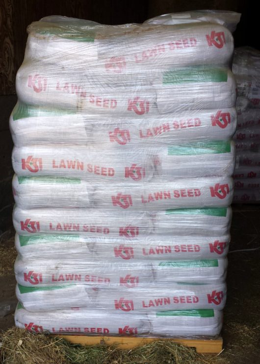 Lawn seed at Cherokee Feed & Seed