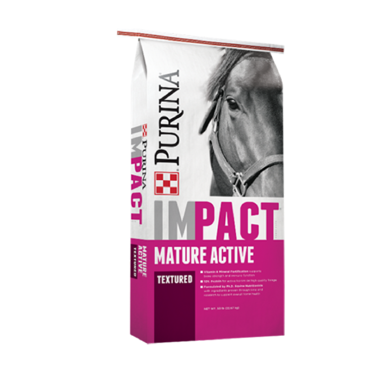 Impact Mature Active Textured Horse Feed