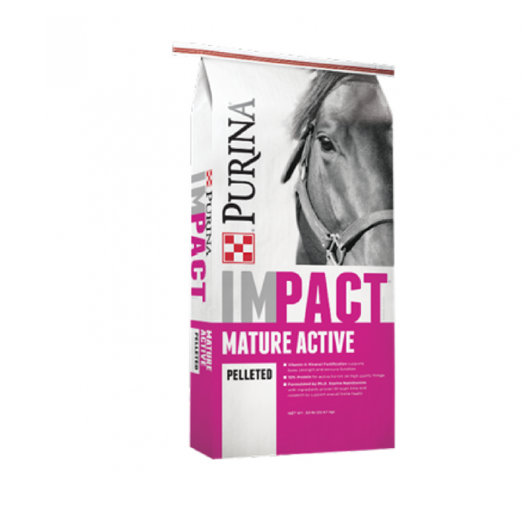 Impact Mature Active Pelleted Horse Feed