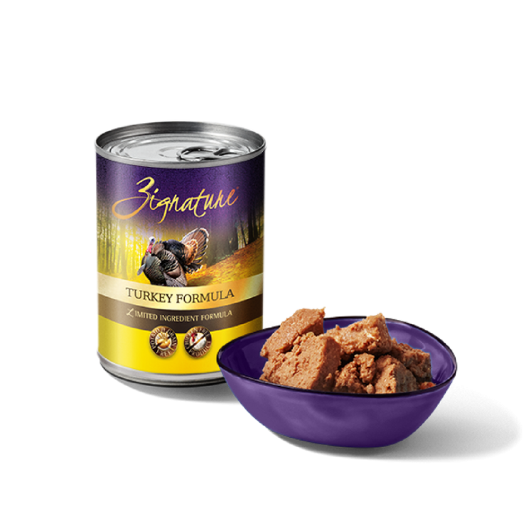 Zignature Canned Turkey Formula