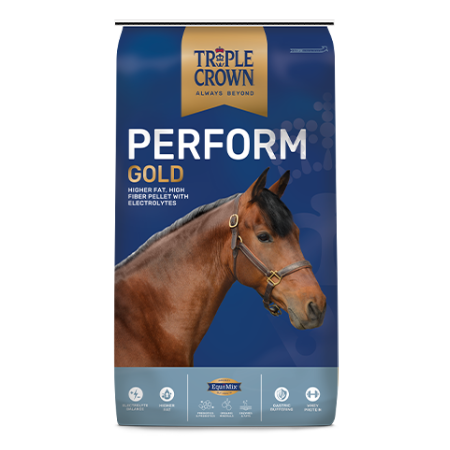 Triple Crown Perform Gold: Triple Crown Gold Horse Feeds